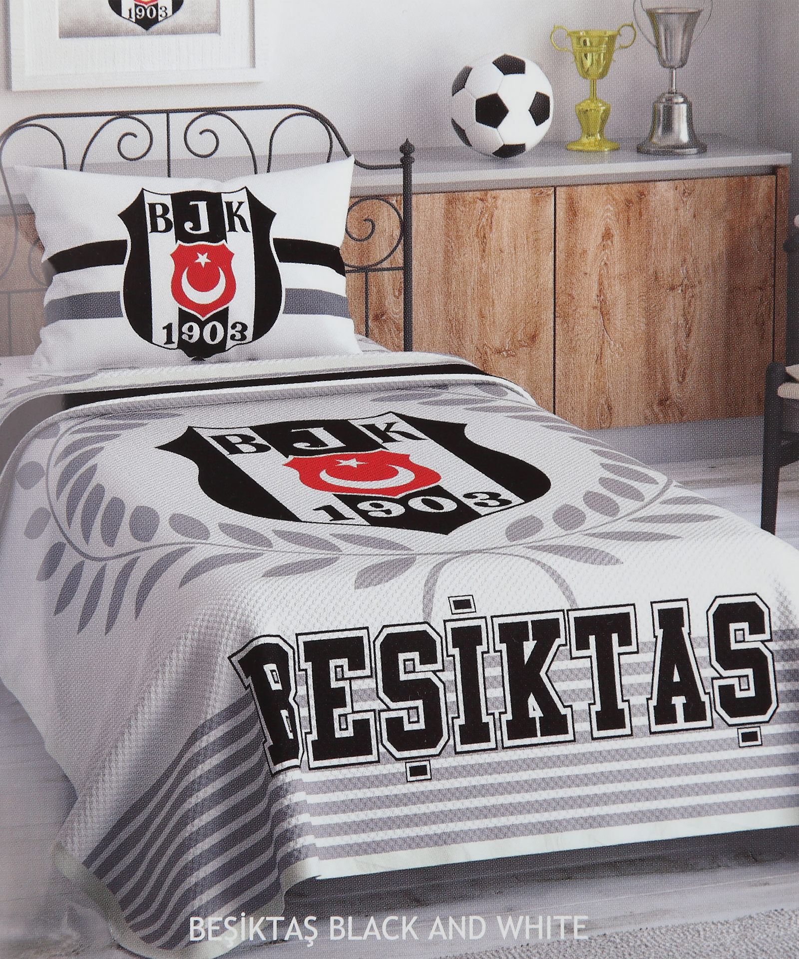 BEŞİKTAŞ BLACK AND WHITE PİKE TAKIMI