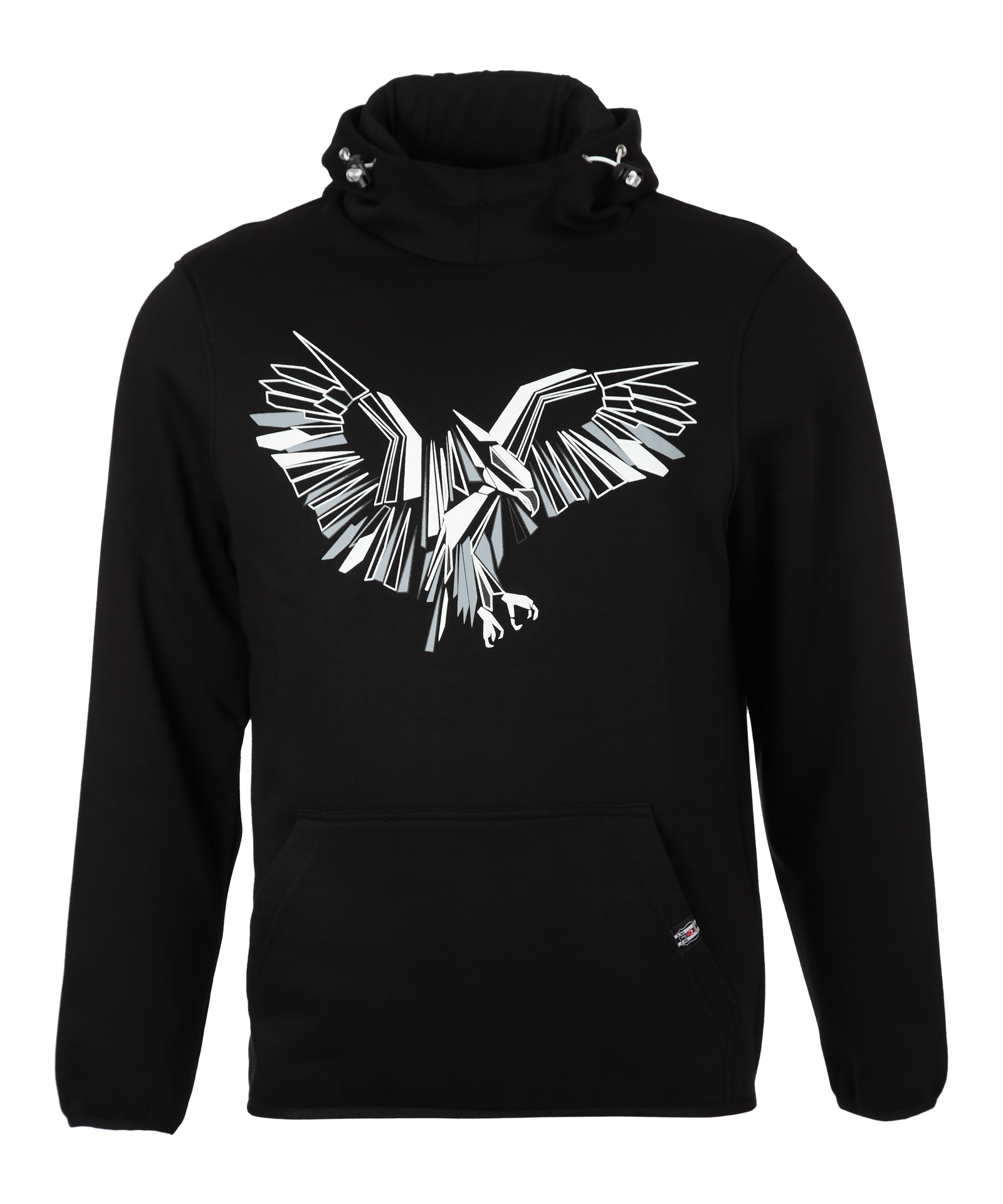 BEŞİKTAŞ DESIGN EAGLE MEN'S HOODED SWEATSHIRT